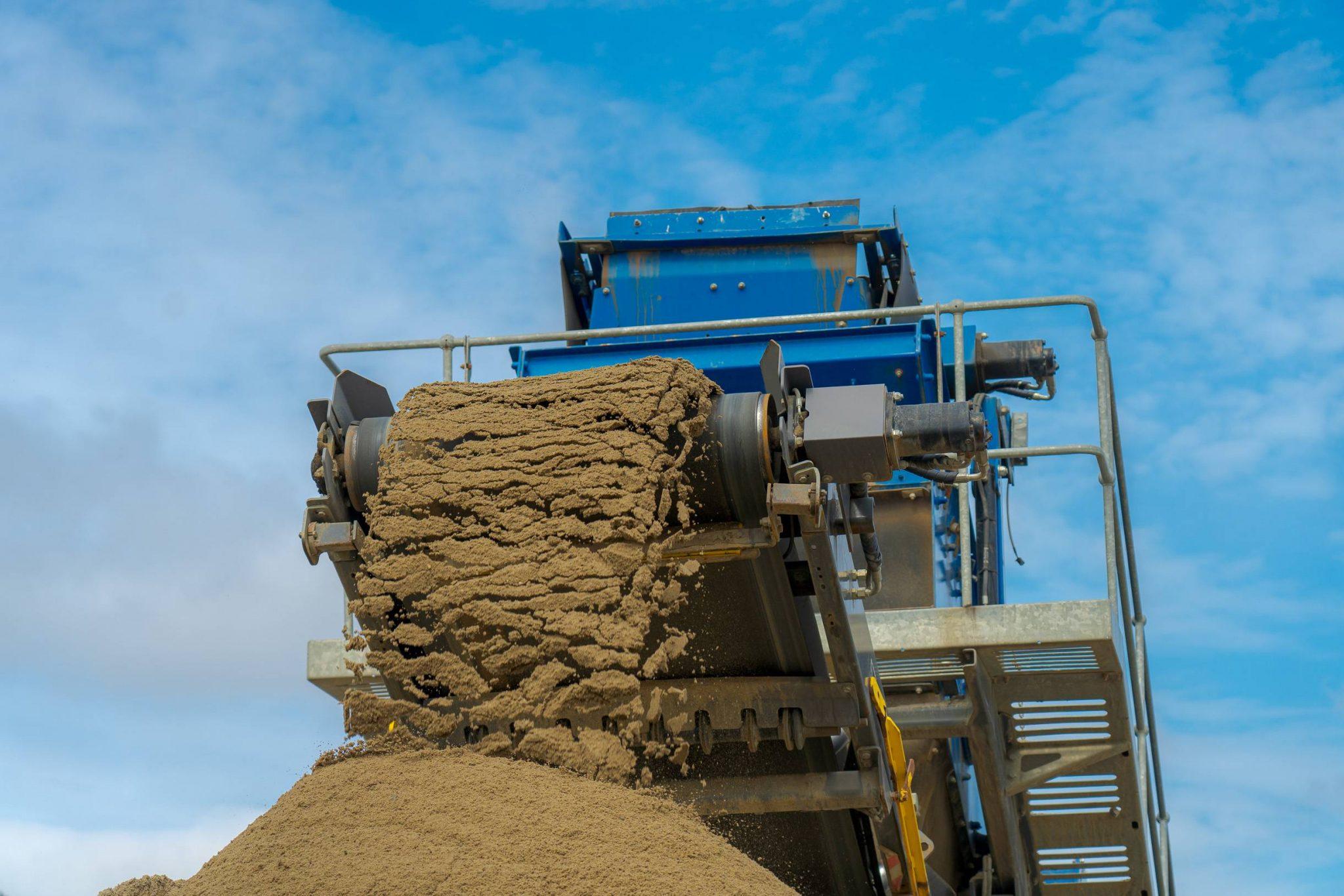 Vasking av sand