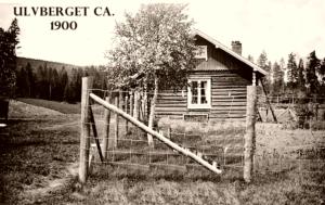 Ulvberget anno 1900